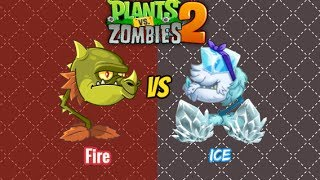 Plants vs Zombies 2 - SNAPDRAGON VS COLD SNAPDRAGON NEW!