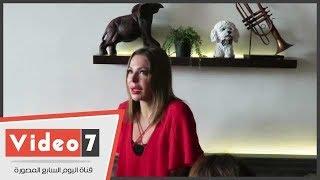 انهيار الفنانة سوزان نجم الدين عقب خسارة منتخب سوريا فرصة التأهل للمونديال