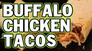 Easy Bodybuilding Buffalo Chicken Tacos