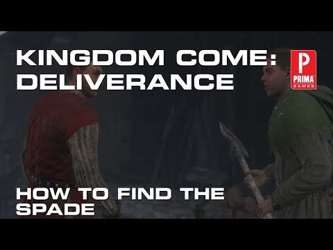 Kingdom Come Deliverance - Where to Find the Spade