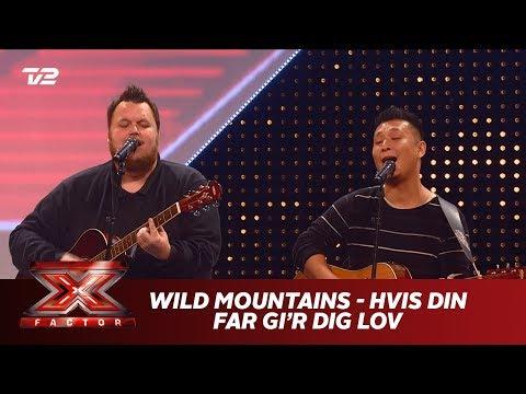 Wild Mountains synger 'Hvis Din Far Gi'r Dig Lov' - Kim Larsen (5 Chair Challenge) | X Factor 2019