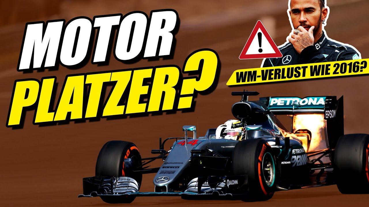 Download Motorprobleme bei Mercedes! Verliert Hamilton dadurch die WM?