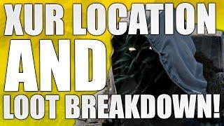 Destiny : Xur Location &  Loot Breakdown! 10/23/15