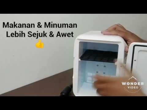 Penyetelan & Pemasangan Awal Kulkas Mini Portable