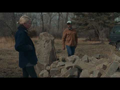 Certain Women : Michelle Williams and James Le Gros at rock pile