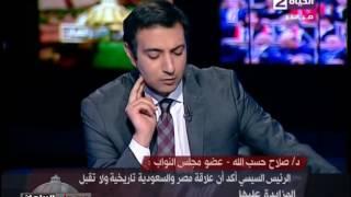 """بالفيديو.. برلماني: """"السيسي عايز 90 مليون مجند يرتدي رداء الوطن"""""""