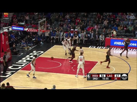 3rd Quarter, One Box Video: Los Angeles Clippers vs. Houston Rockets