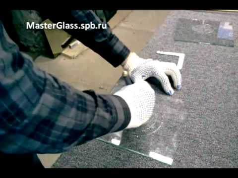Как сделать круглое отверстие в стекле