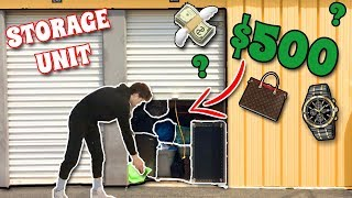 BUYING A $500 ABANDONED STORAGE UNIT!