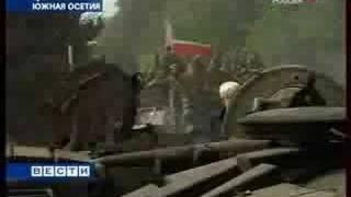 Чеченский спецназ распугал всех грузинских солдат