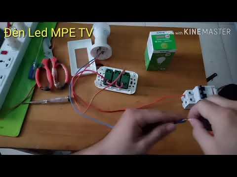 Hướng Dẫn Cách đấu 3 Công Tắc đèn Panasonic Dễ Hiểu | Đại Lý Thiết Bị điện Panasonic | Đèn Led MPE