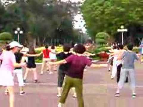 Aerobics Vietnam Style 6am