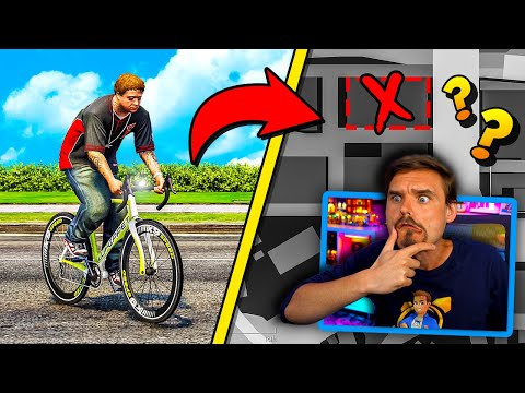 In GTA 5.. Where does JIMMY go on his BICYCLE?! (NO WAY!)