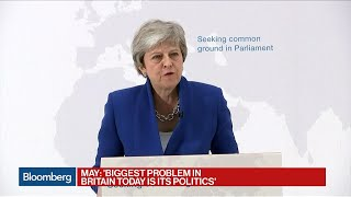 May Says Brexit Is a 'Huge Opportunity' for the U.K. thumbnail