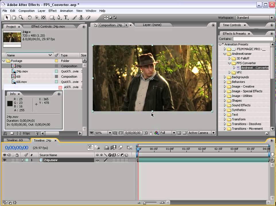 19 Frame Rate Converter (videocopilot) by www.videovutorials ...
