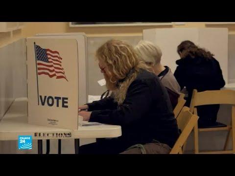 مشاركة نسائية كثيفة في الانتخابات النصفية الأمريكية للكونغرس