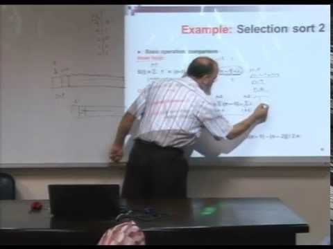 Lecture 5: Fundamentals of the Analysis of  Algorithm Efficiency -3