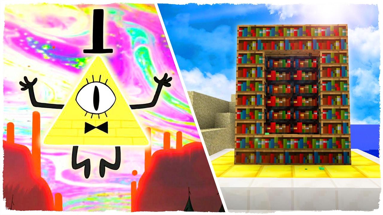 Como Hacer Un Portal A La Dimension De Gravity Falls Minecraft