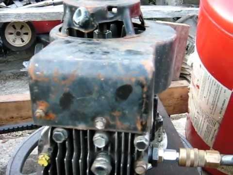 Home Built Generator Amp Air Compressor From Lawn Mower Doovi