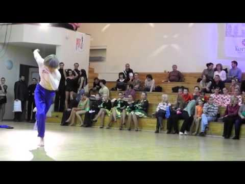 Clip number 168+169 Dance Show Free style Solo male Junior