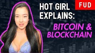 HOT GIRL EXPLAINS CRYPTO: Bitcoin, Blockchain & Altcoins   BTC ETH XRP TRX ADA EOS
