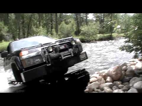GMC Canyon - Extreme Hagglunds All Terrain Vehicle