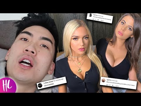 RiceGum Girlfriend Attacked By Fans After Jake Paul Video | Hollywoodlife