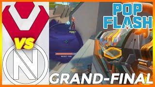 GRAND-FINAL! Sentinels vs EΝVY HIGHLIGHTS - PopFlash Valorant Invitational