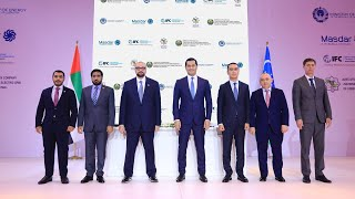Masdar strengthens presence in Uzbekistan with agreement to develop 440 MW solar projects