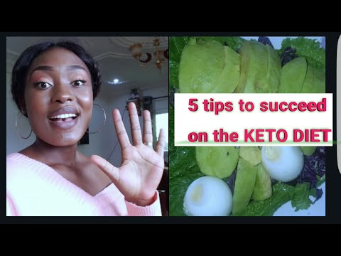 5 Tips To Succeed On The KETO DIET
