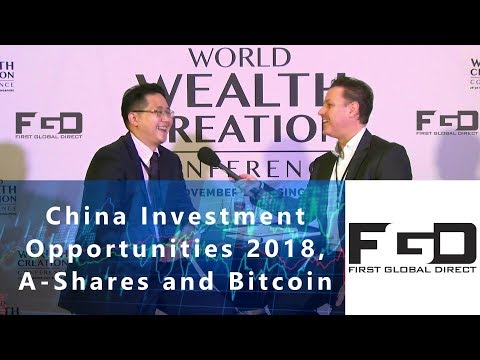 A-shares and Bitcoin -Investment Opportunities in China for 2018 - Qi Wang at WWCC 2017