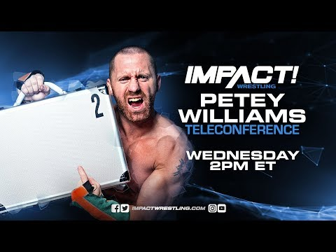 Petey Williams Teleconference Live Stream | March 21, 2018 at 2 PM ET