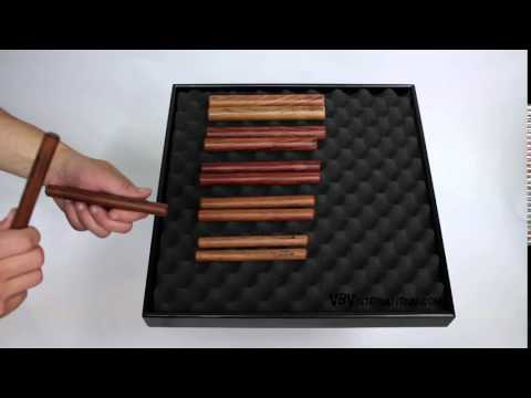 Claves Rosewood 150X15mm video