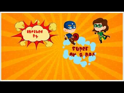 avengers-super-hero-themed-kids-birthday-video-invitation-|-inviter.com
