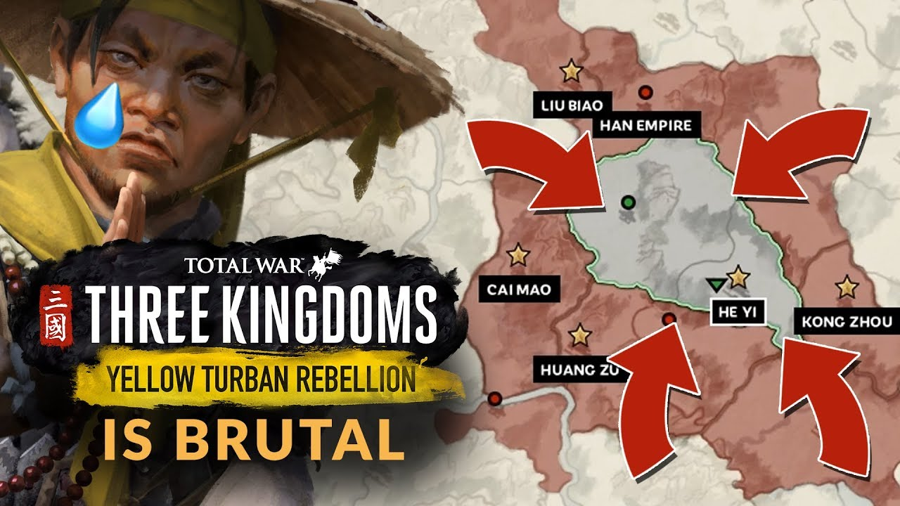 63 85 MB) TOTAL WAR: THREE KINGDOMS | YELLOW TURBAN REBELLION DLC IS