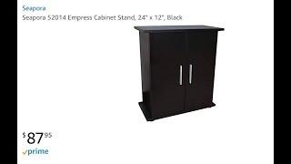 Dark Oak 48 x 18 Seapora 52048 Empress Cabinet Stand