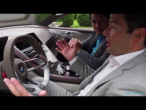 EXCLUSIVE: BMW 8 Series Concept walkthrough and I got to drive off...