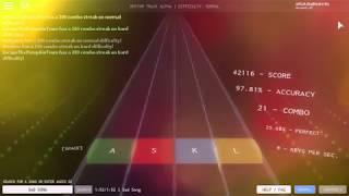 (Reupload) Roblox Rhythm Track - Sad Song (Normal Mode)
