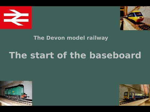 Building a model railway part 1 Prep and baseboard