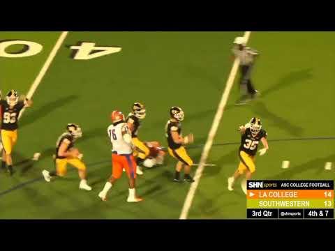 Louisiana College vs. Southwestern Highlights - 9/22/2018