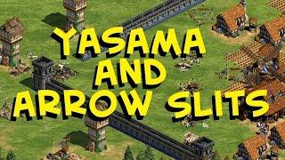 Yasama and Arrow Slits in AoE2