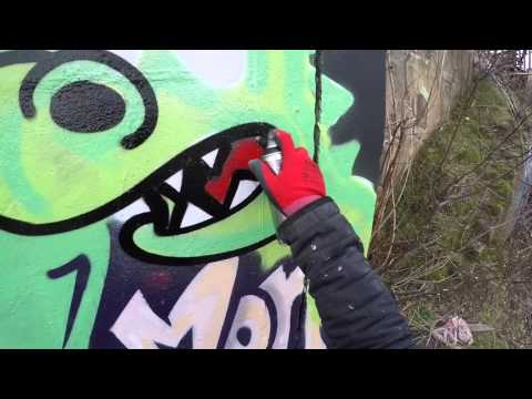 Graffiti - Apps EA - Green Monster