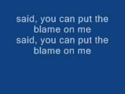 Sorry!Blame It On Me