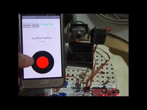 Android Joystick App using MIT App Inventor