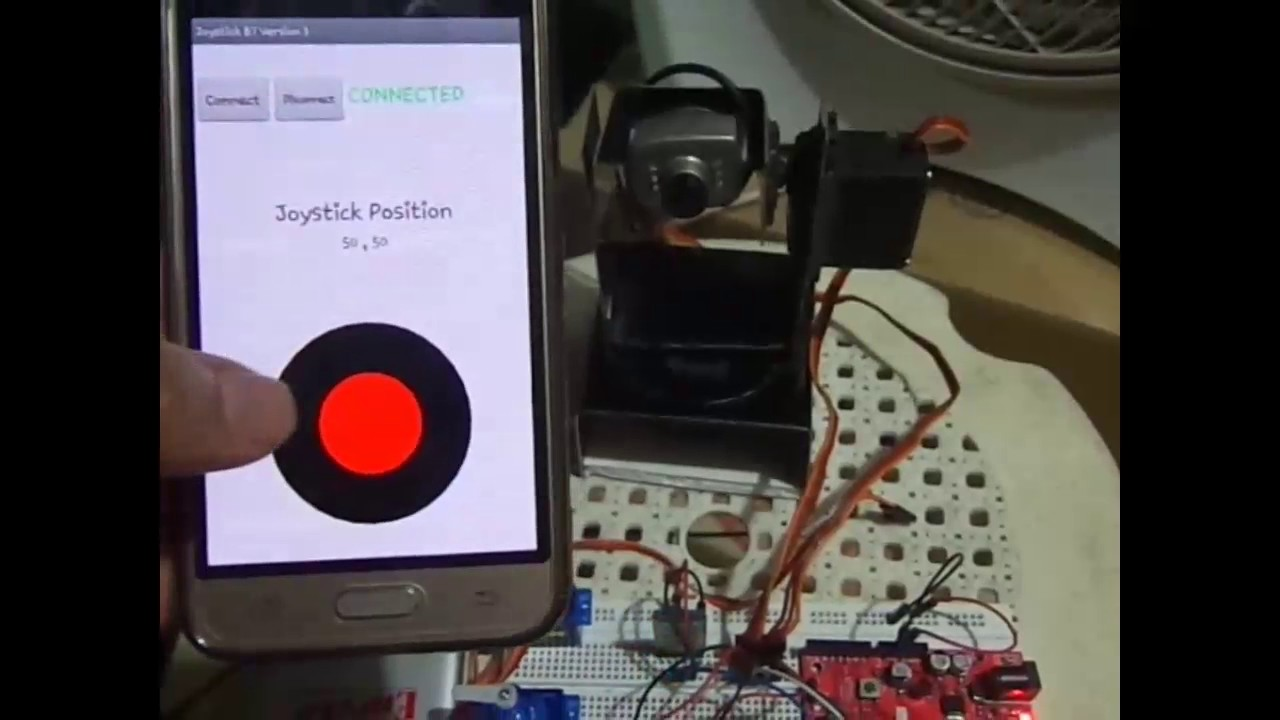 Android Joystick App using MIT App Inventor