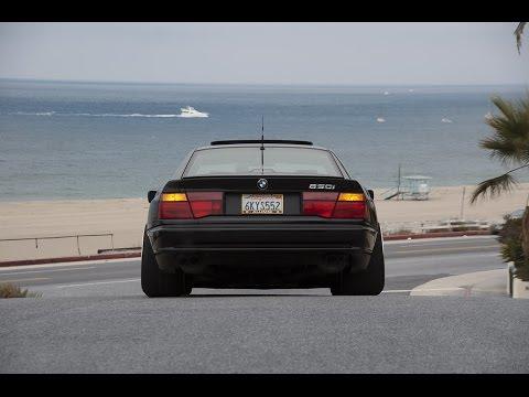 Insane BMW 850i engine sounds E31