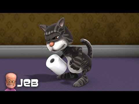 Jeb's Cat : Poo | Funny CGI 3D Animated Short