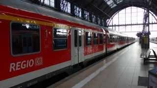 RB55レギオナルバーン フランクフルト中央駅到着