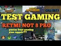TEST GAMING RETMI NOT 8 PRO