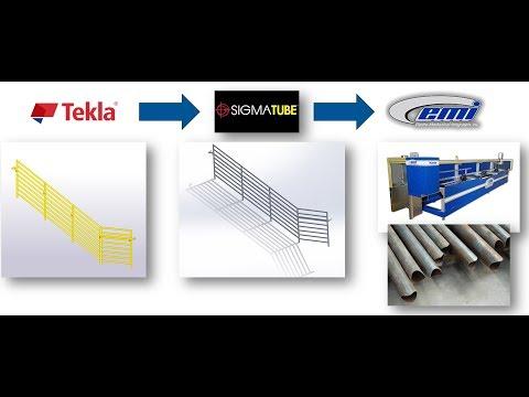 Tekla Partner Spotlight: Linking Tekla with SigmaTUBE and EMI